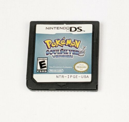 Pokemon Soul Silver Version ~ Nintendo DS NDS