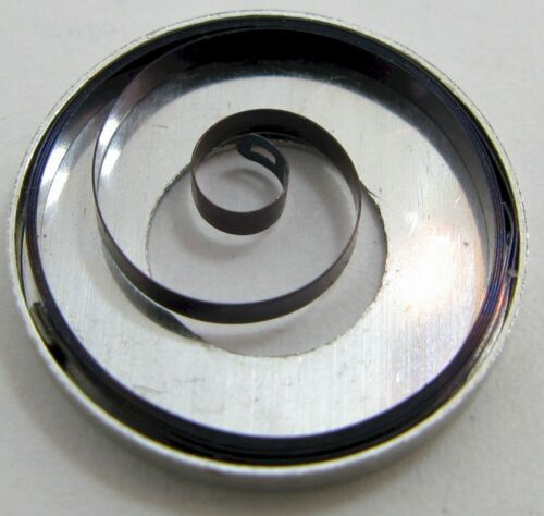 original Rolex 620 630 watch 9 3/4 NA part SOFT Mainspring 771 * blue alloy *