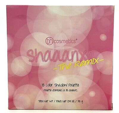 Bh Cosmetics Shaaanxo The Remix 18 Color Shadow Palette New in Box
