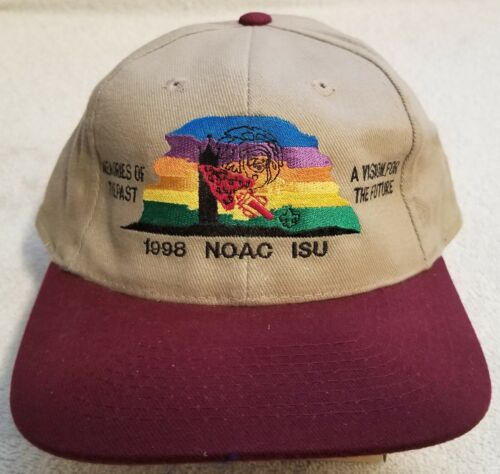 Vintage OA 1998 NOAC IOWA UNIVERSITY Hat/Cap~MINT