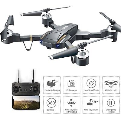 Drones with hd camera 1080p Wifi FPV RC Drone Selfie Quadcopter