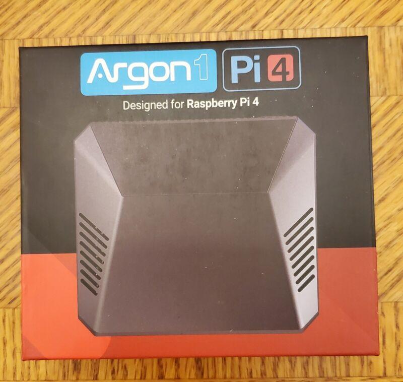 New, Argon ONE - A Decent Aluminum Case for Raspberry Pi 4