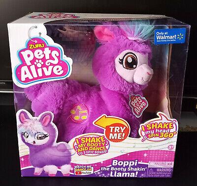 Zuru Pets Alive Boppi the Booty Shakin Llama Purple