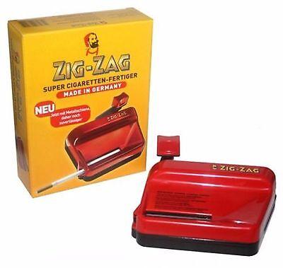 zig-zag Stopfer Zigarettenfertiger Stopfmaschine Zigaretten Hülsen