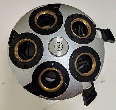 Zeiss Axioskop Dic Nomarski Nosepiece Quintuple Turret