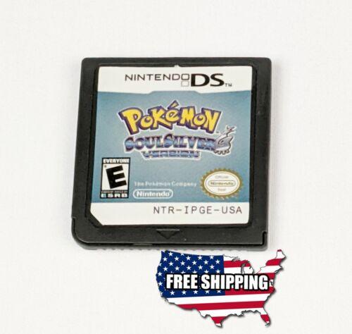 Pokemon Soul Silver Version - Nintendo DS NDS + More...