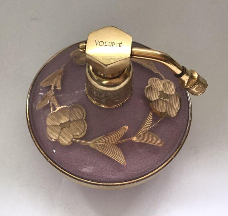 Vintage 1920s Devilbiss Volupte Pink Cased Glass Atomizer Perfume Bottle