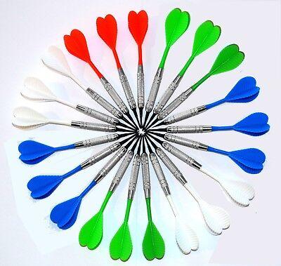 21 Soft - Dart - Pfeile *Chromline* 2ba + 1000 Ersatzspitzen - Dartzubehör