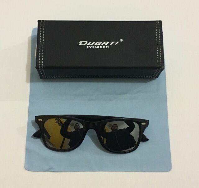 6b88e72811f2 (2) Dugati Sunglasses free case   cloth
