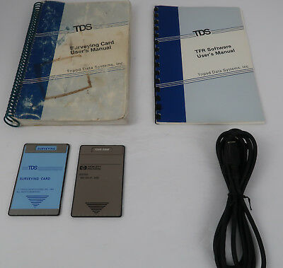 Tds Surveying Card 128k Ram Card Serial Cable For Hp 48gx 48sx Calculators