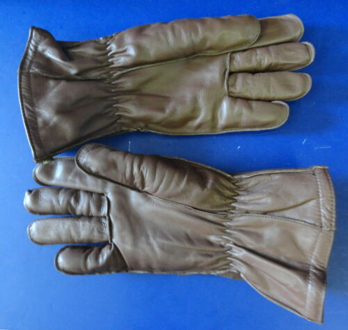 USAAF F-2/F-3 ELECTRICALLY HEATED FLYING GLOVES- SIZE LARGE