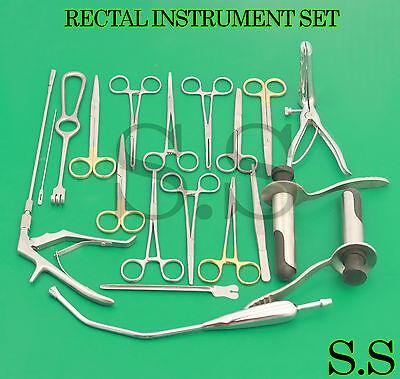 Rectal Instrument Set Ds-992
