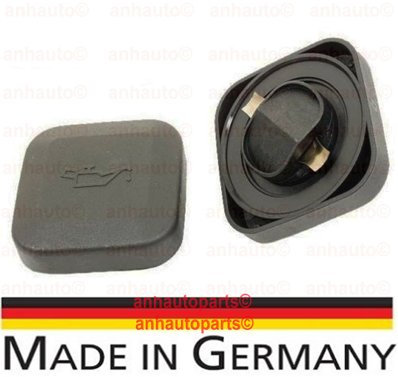 Engine Cylinder Block wq Stant Oil Filler Cap for 1971-1976 BMW 2002