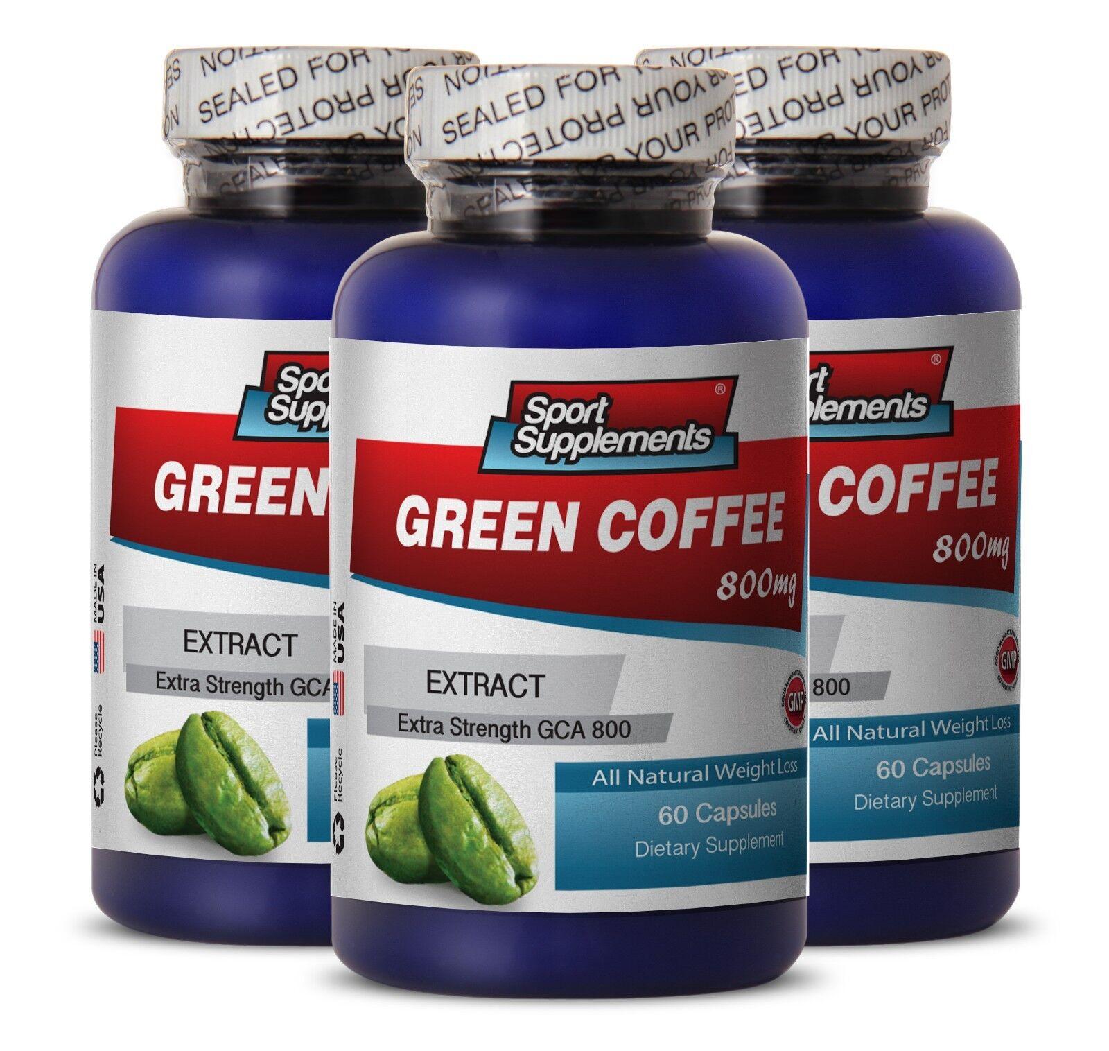 Green Coffee Bean Pure - Green Coffee Gca® 800mg - Natura...