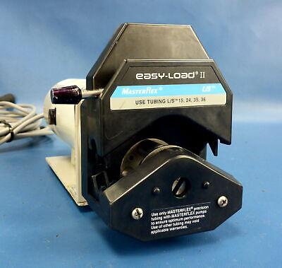 Cole-parmer Masterflex Ls Pump Drive 0.1hp 10-600rpm W Easy-load Ii Head