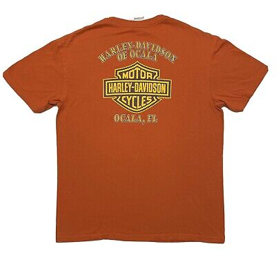 Harley Davidson Ocala Florida Shirt Size Large
