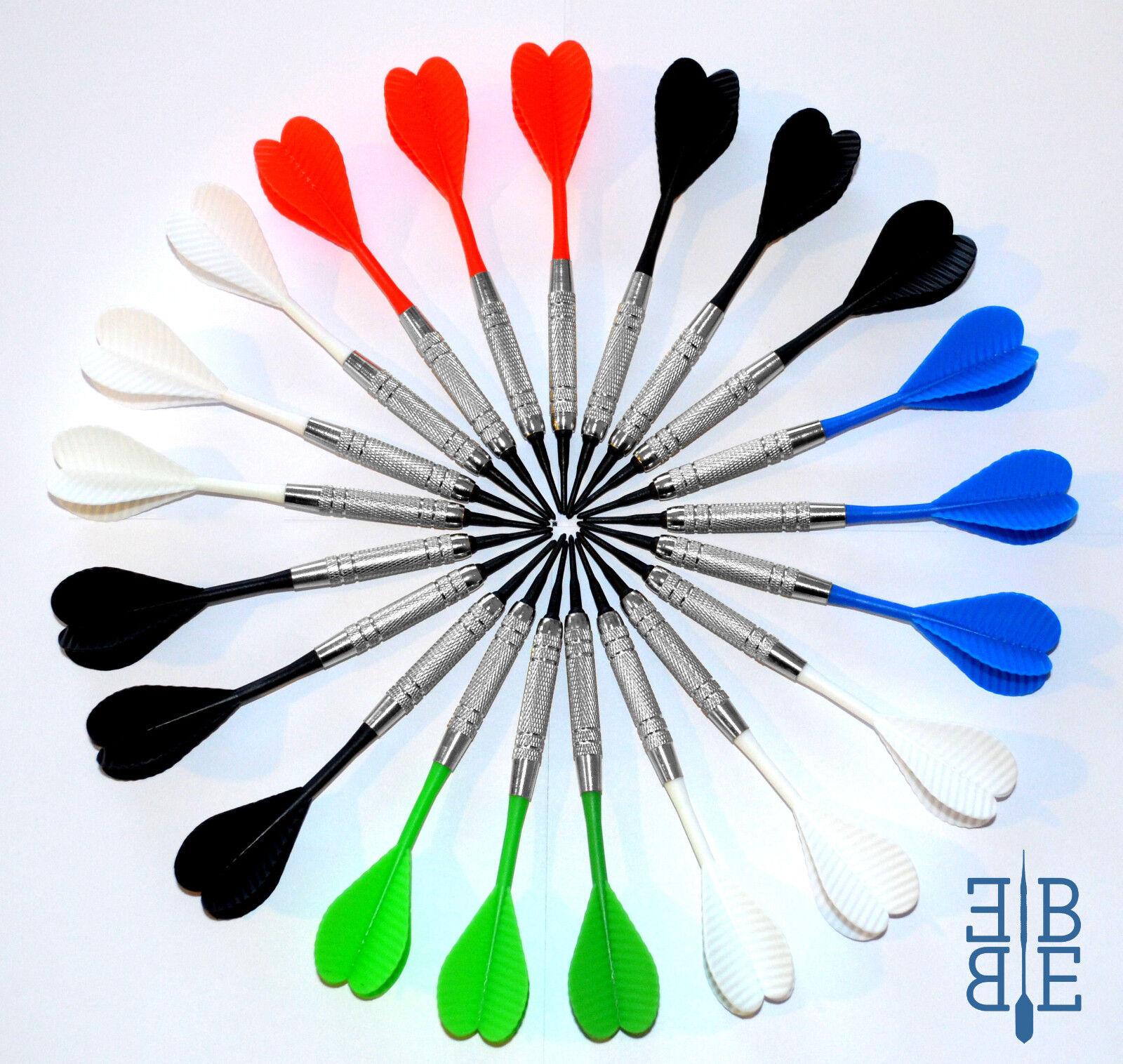 Soft - Dart - Pfeile *Chromline* 2ba + 100 Ersatzspitzen - Dartzubehör