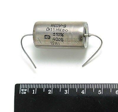 1 x 0.15uF @ 200V PIO RUSSIAN K40Y-9 NOS SPECIAL AUDIO UPGRADE