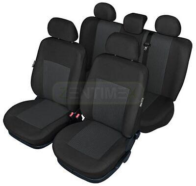 KRE EXCLUSIVE ROT Komplett Set Autositzbezüge Sitzbezüge Fiat Panda