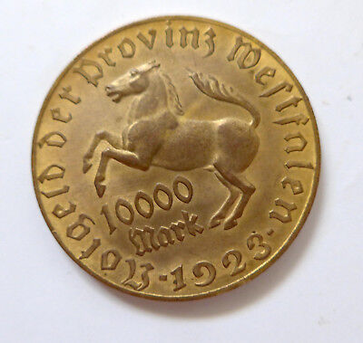 10000 Mark Provinz Westfalen Annette von Droste Hülshoff Dichterin
