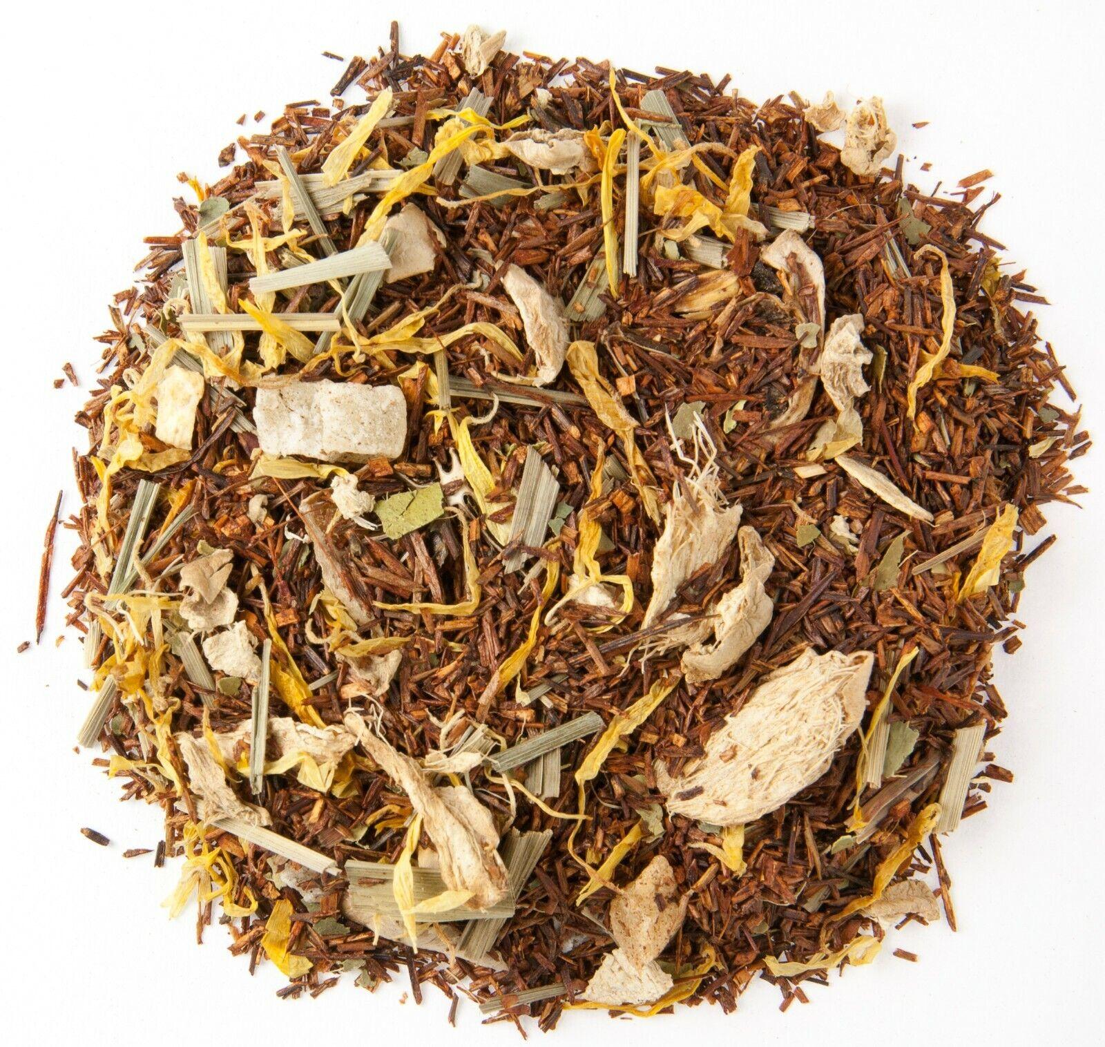 Thai Lemon Ginger Rooibos Loose Leaf Tea - 1/2 lb