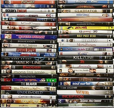 200 DVD Movies Wholesale Bulk Assorted Lot 200 DVDs Lot Over $2k Retail Value!