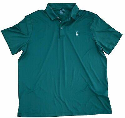 Mens Polo RALPH LAUREN Performance Short Sleeve Shirt XL