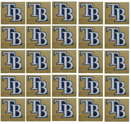Tampa Bay Rays Baseball Sticker Set Of 25 Team Logo Design Made In The Usa
