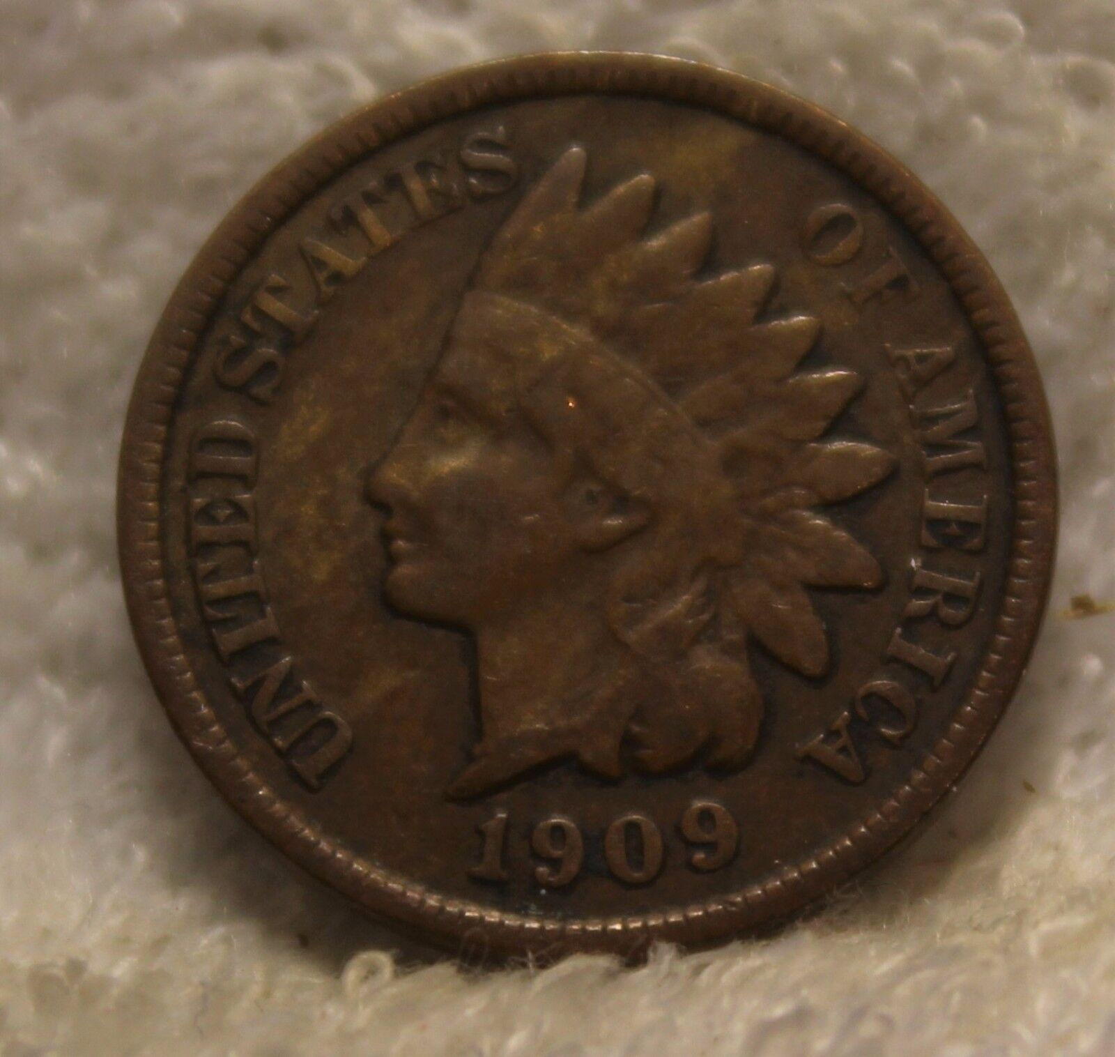 1909 Indian Head Penny - $7.50
