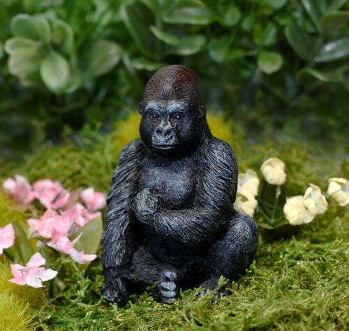 Miniature Dollhouse FAIRY GARDEN Gorilla