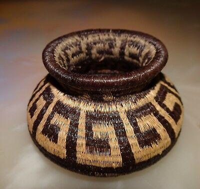 Wounaan Embera Indian High Quality Woven Basket Panama