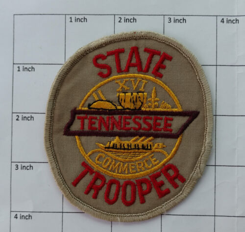 Vintage Tennessee State Trooper patch