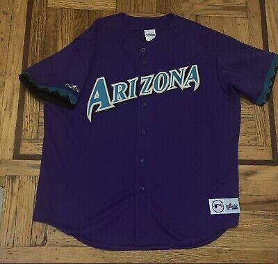 Retro Authentic Arizona Diamondbacks Jersey Size Xxl