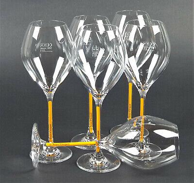 Veuve Clicquot Champagner Trendy Flute Prestige 0,1l Glas Gläser 6er Set (825)