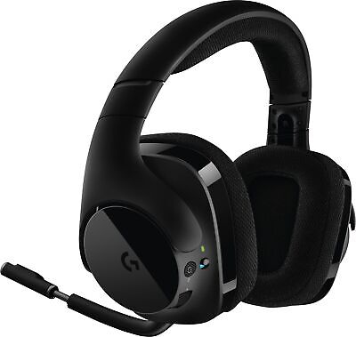 Logitech G533 Wireless Gaming Headset, Black 981-000632