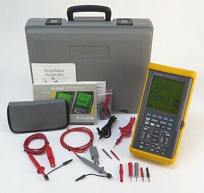 Fluke 97 2 Channel 50mhz Handheld Digital Oscilloscope Philips 9444 000 97923