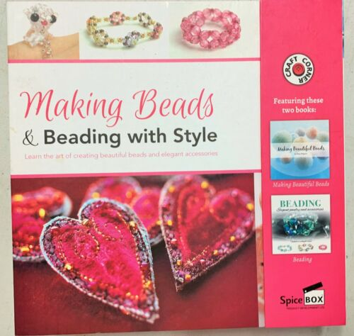 Jewelry Craft Kit  Making Beads Beading With Style NEW