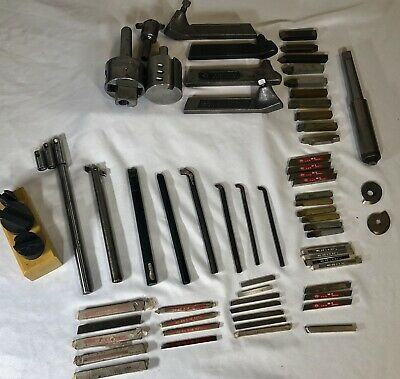 Southbend Atlas Craftsman 9 10 12 Metal Lathe Tool Lot Boring Bars Cutting Bits