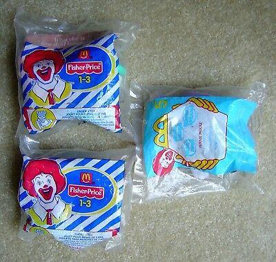 VINTAGE 2001 McDONALDS MINNIE MOUSE FISHER PRICE COW SEALED Happy Meal NEW - $9.99