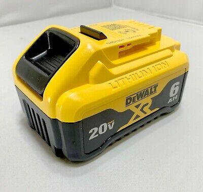 Dewalt Dcb206 6.0 20v Max Xr 6ah Lithium-ion Battery