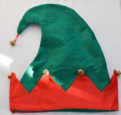 green santa  elf hat
