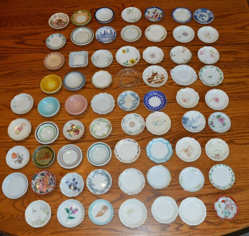 67 piece Lifelong collection of butter pats