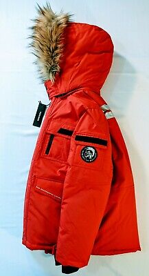 Diesel Kids Parka Down Jacket Size 10-12
