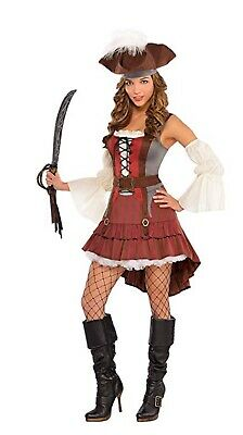 Castaway Pirate Halloween Costume for Women, X-Large - Costumes For Large Women