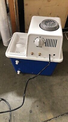 Used Circulating Water Vacuum Pump Air For Lab Chemistry Equipment With 2 Off-ga