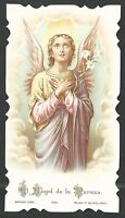 Estampa Antigua Del Angel De La Guarda Andachtsbild Santino Holy Card Santini -  - ebay.es