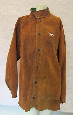 Weldas Side Split Leather Welding Jacket Xl