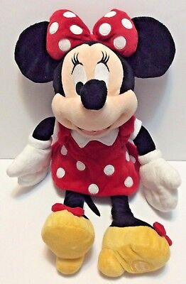 """Disney Store Exclusive Minnie Mouse Plush 18"""" Toy Doll"""