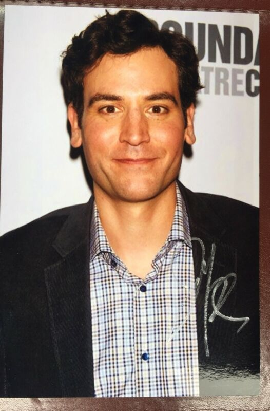 "Josh Radnor signed 4""X6"" Photo Autographed  How I Met Your Mother / The Graduate"