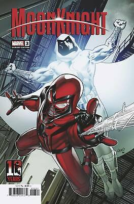 Moon Knight #3 Land Miles Morales 10th Anniversary Variant Cover 09/22